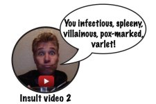 shakespeare insult video