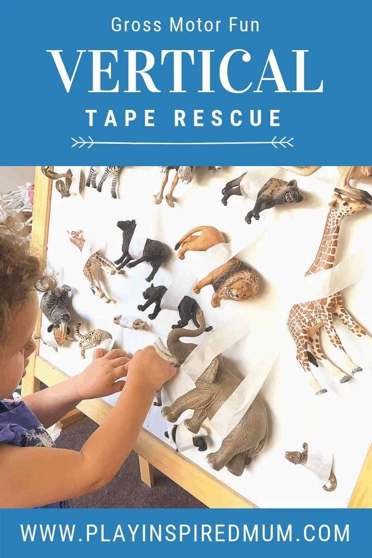 Vertical Tape Rescue for Toddlers
