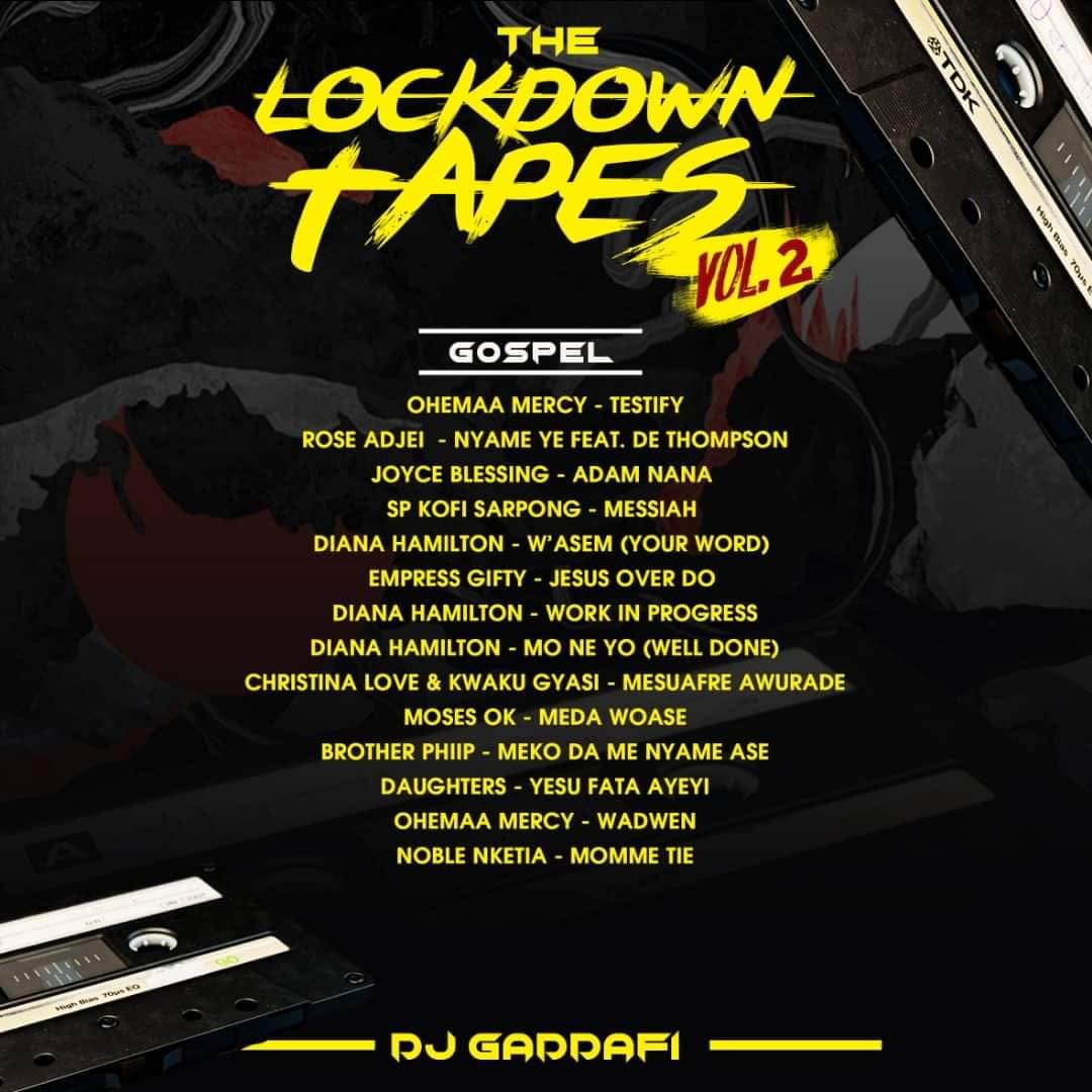 DJ Gaddafi - The Lockdown Tapes (Vol. 2)