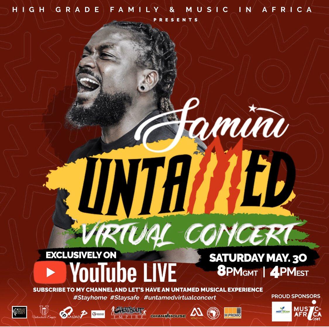 Samini Untamed Virtual Concert Livestream
