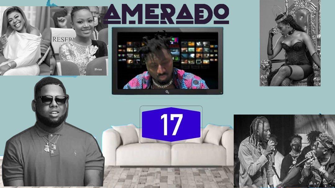 Amerado - Yeete Nsem Episode 17 (feat. Clemento Suarez & Teacher Kwadwo)