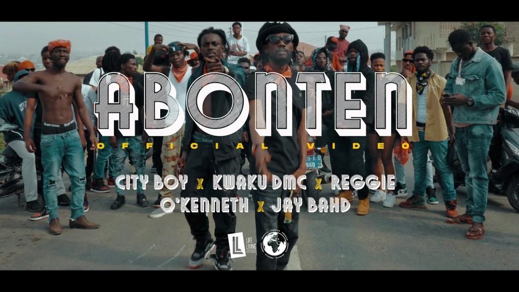 VIDEO: City Boy - Abonten (feat. Kwaku DMC, Reggie, O'Kenneth & Jay Bahd)