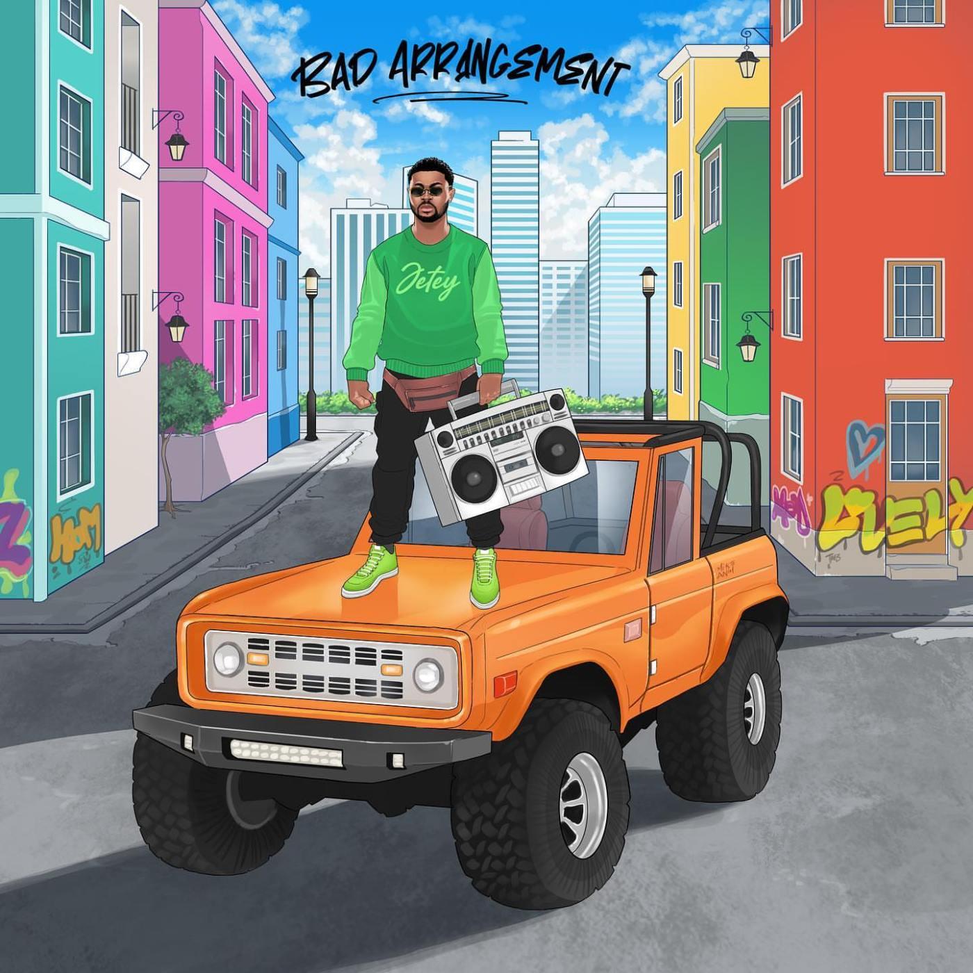 Jetey - Bad Arrangement EP