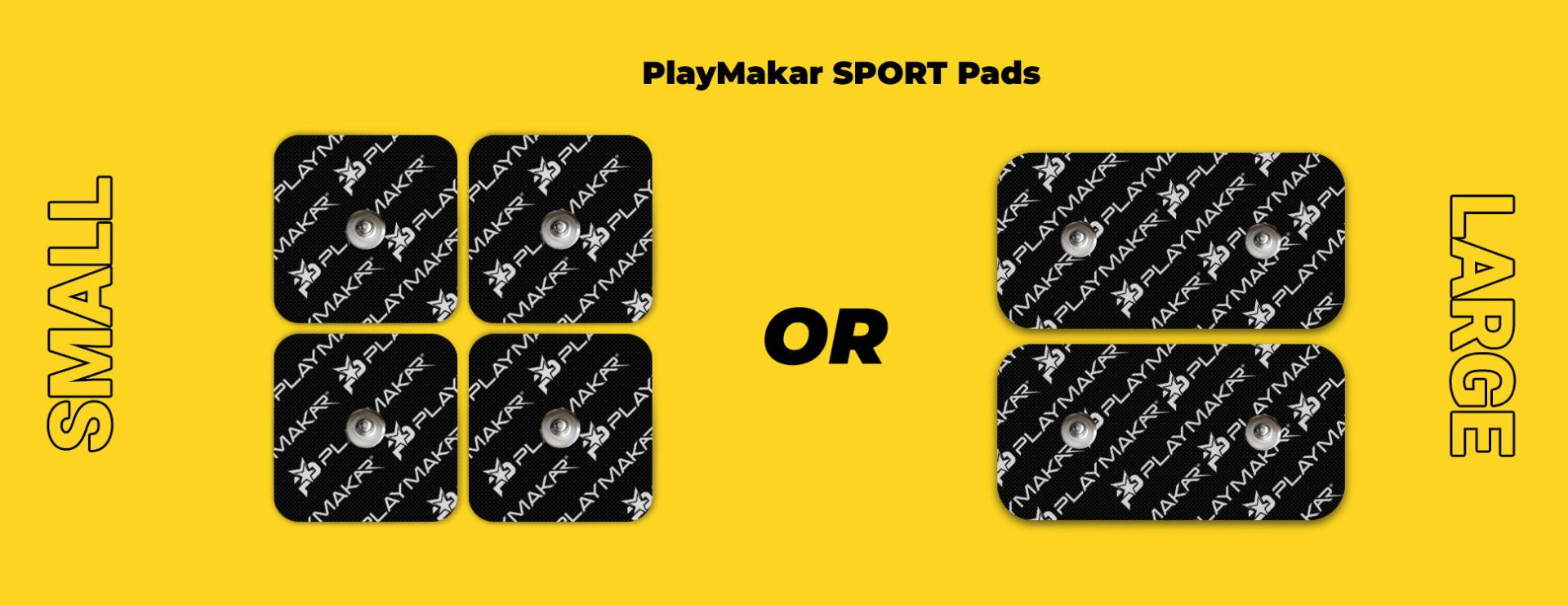 Small or large pads sport (riot)