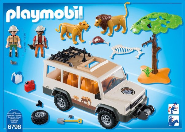 playmobil safari car