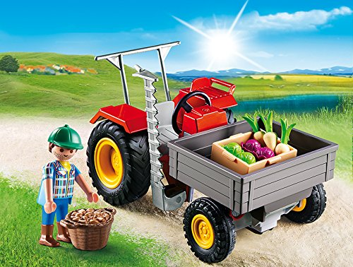 Playmobil small Tractor