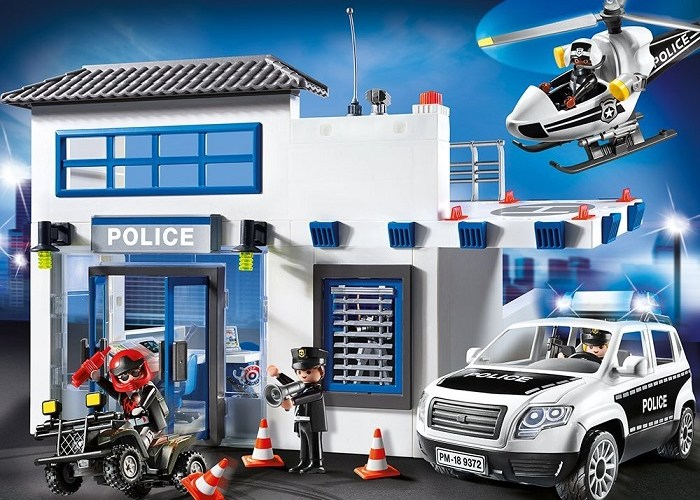 Click to get the price for Playmobil Police station