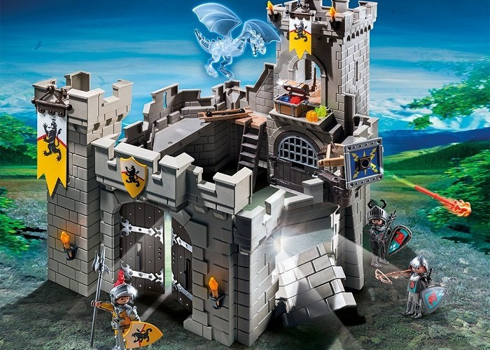 playmobil lion knights fortress euro the deal. Black Bedroom Furniture Sets. Home Design Ideas
