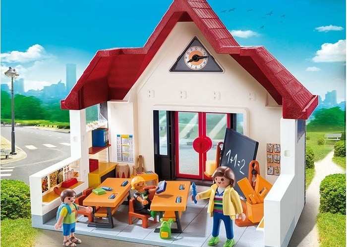 Click to get sale price for Playmobil School Class