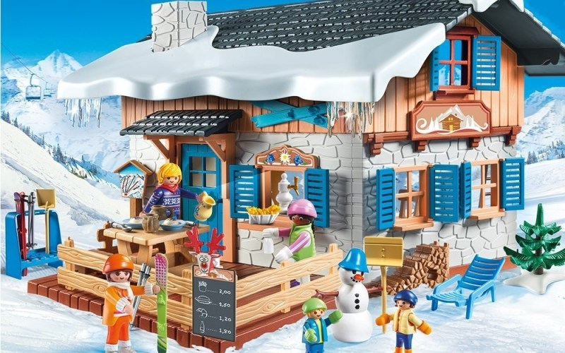 Click to get the price for Playmobil Ski Hut