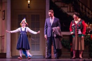 Valerie Wick as Susan Waverly, Dieter Bierbrauer as Bob Wallace and Thomasina Petrus as Martha Watson Photo by Rich Ryan Photography