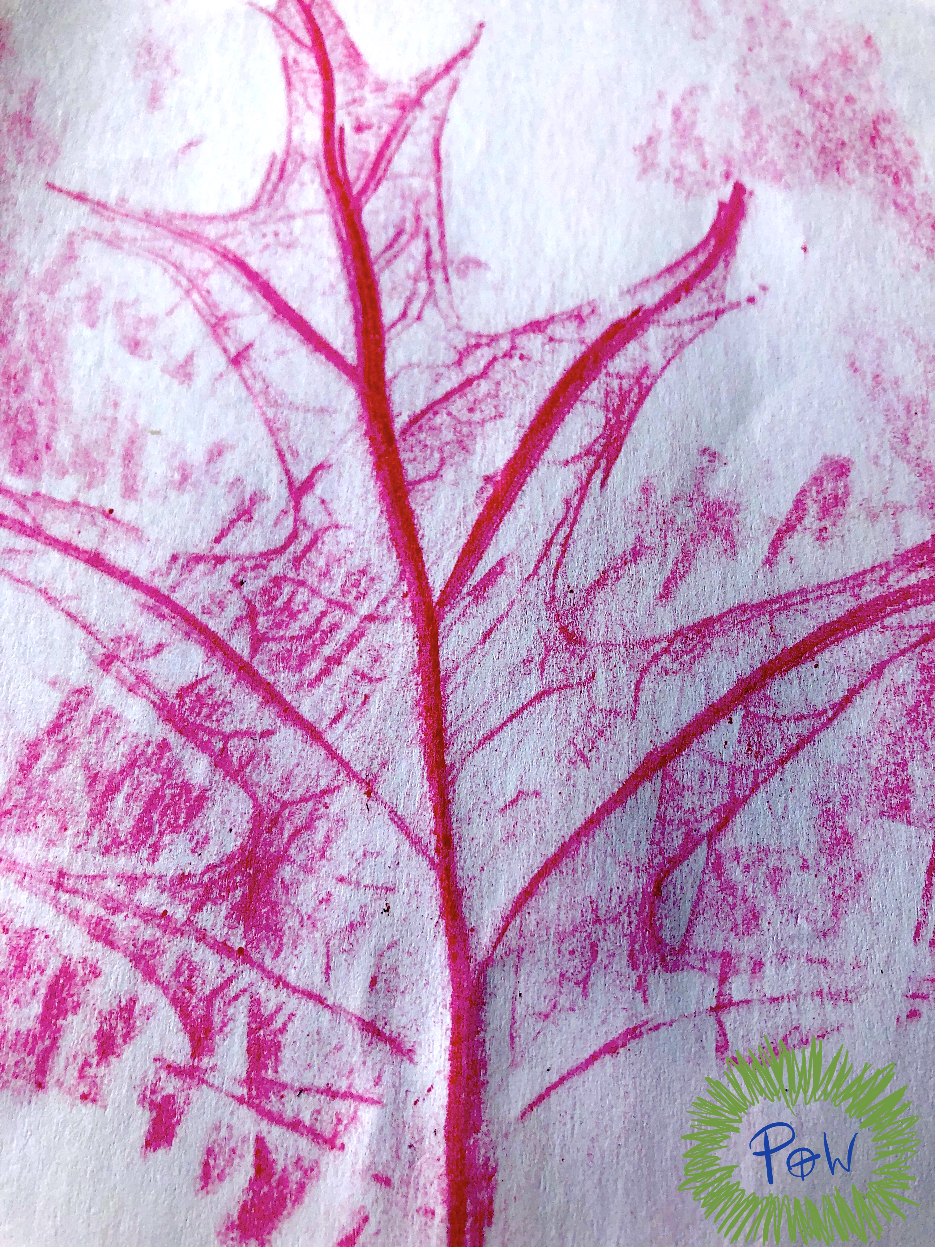 Leaf rubbing with crayons. Autumn leaf activity for children. EYFS Mark Making Ideas & Activities that Help Children.