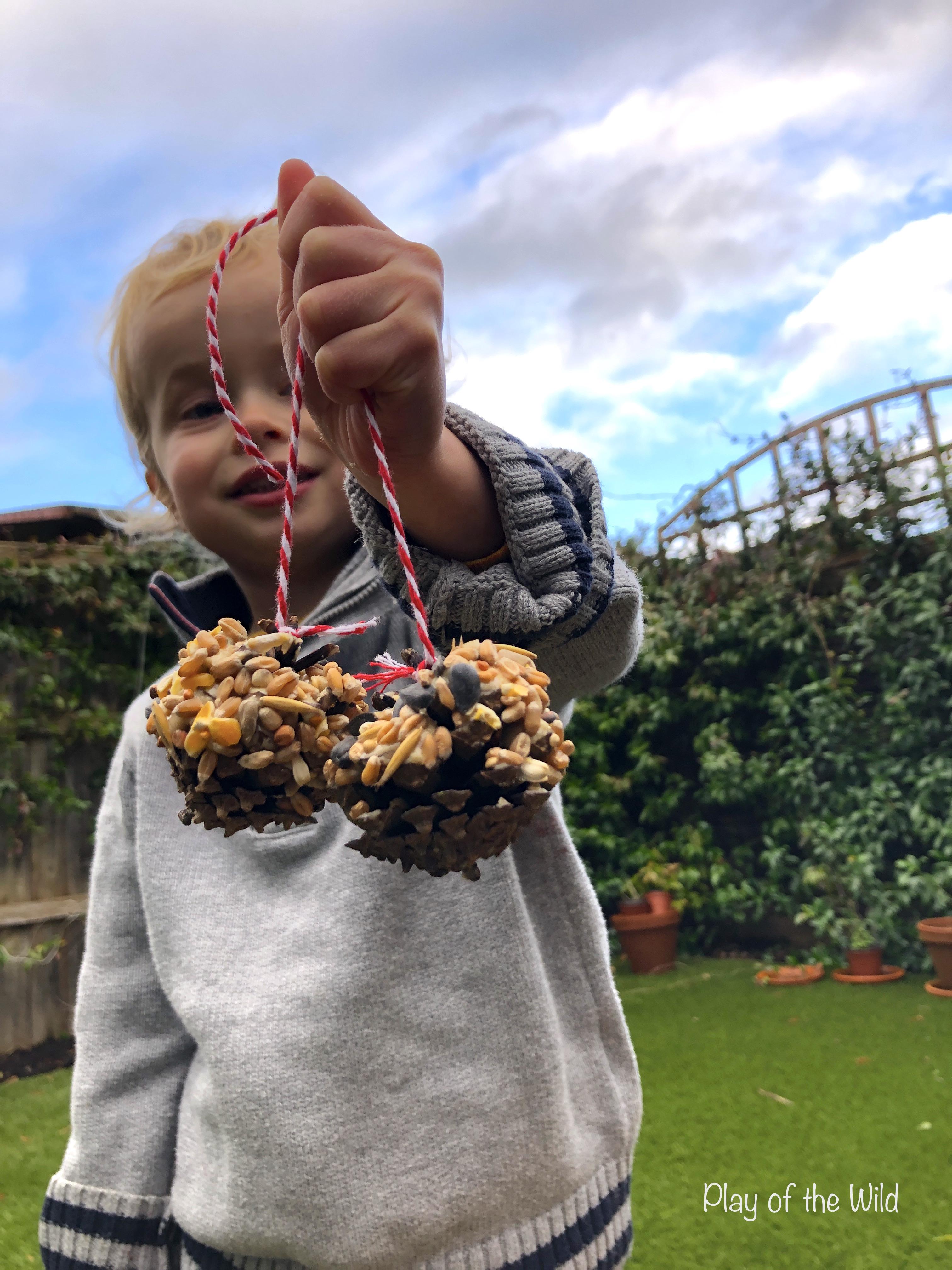 homemade birdfeeders for eyfs