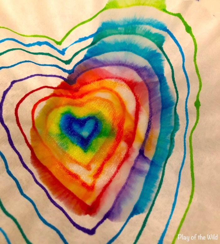 Valentines STEM Art Projects for Toddlers and Kids.