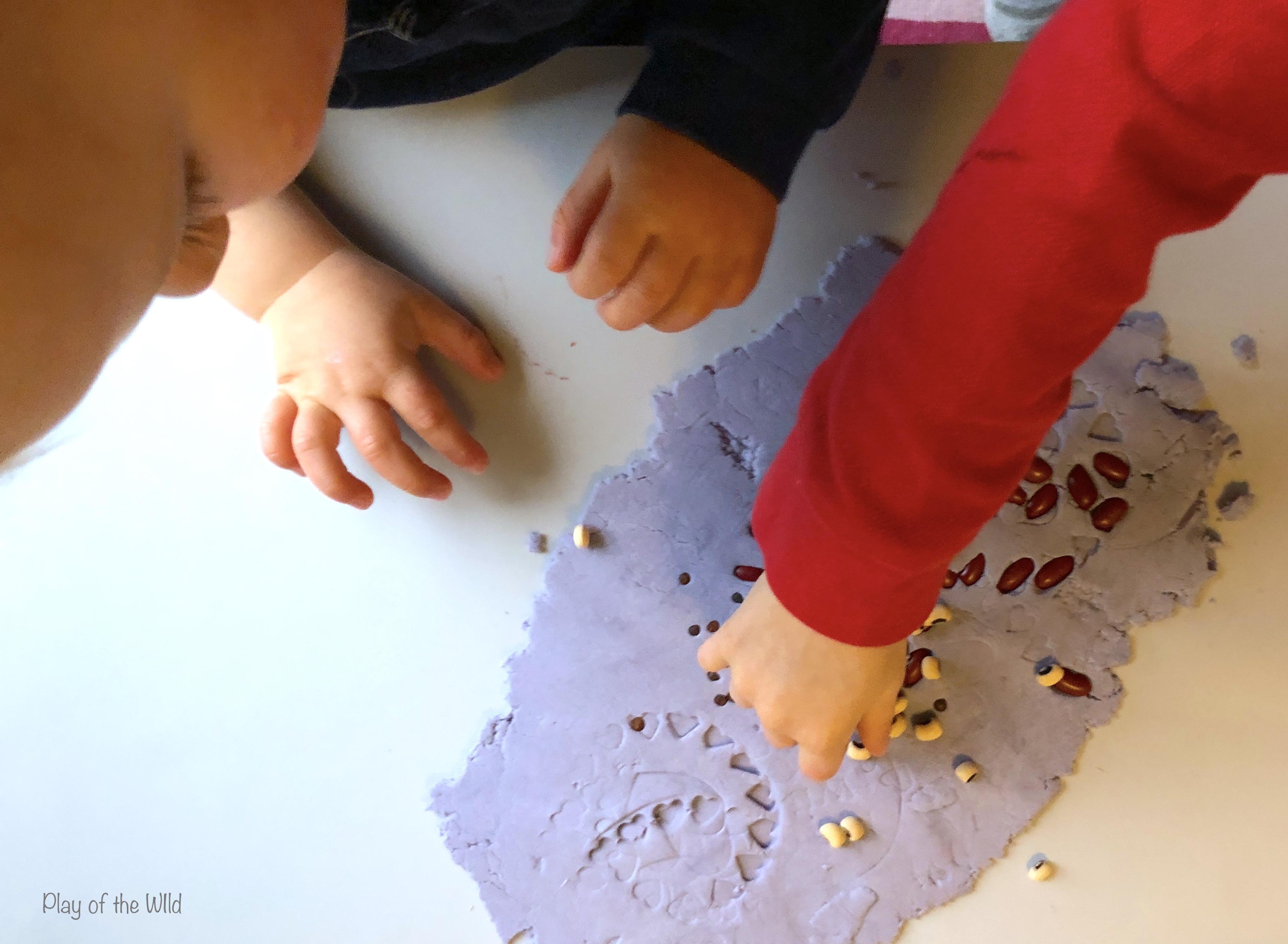 sensory fine motor skills activity