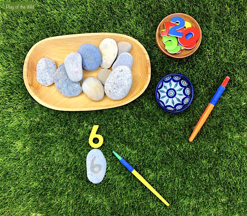 Outdoor Maths Activities EYFS – Outdoor Maths Ideas. writing numbers preschool