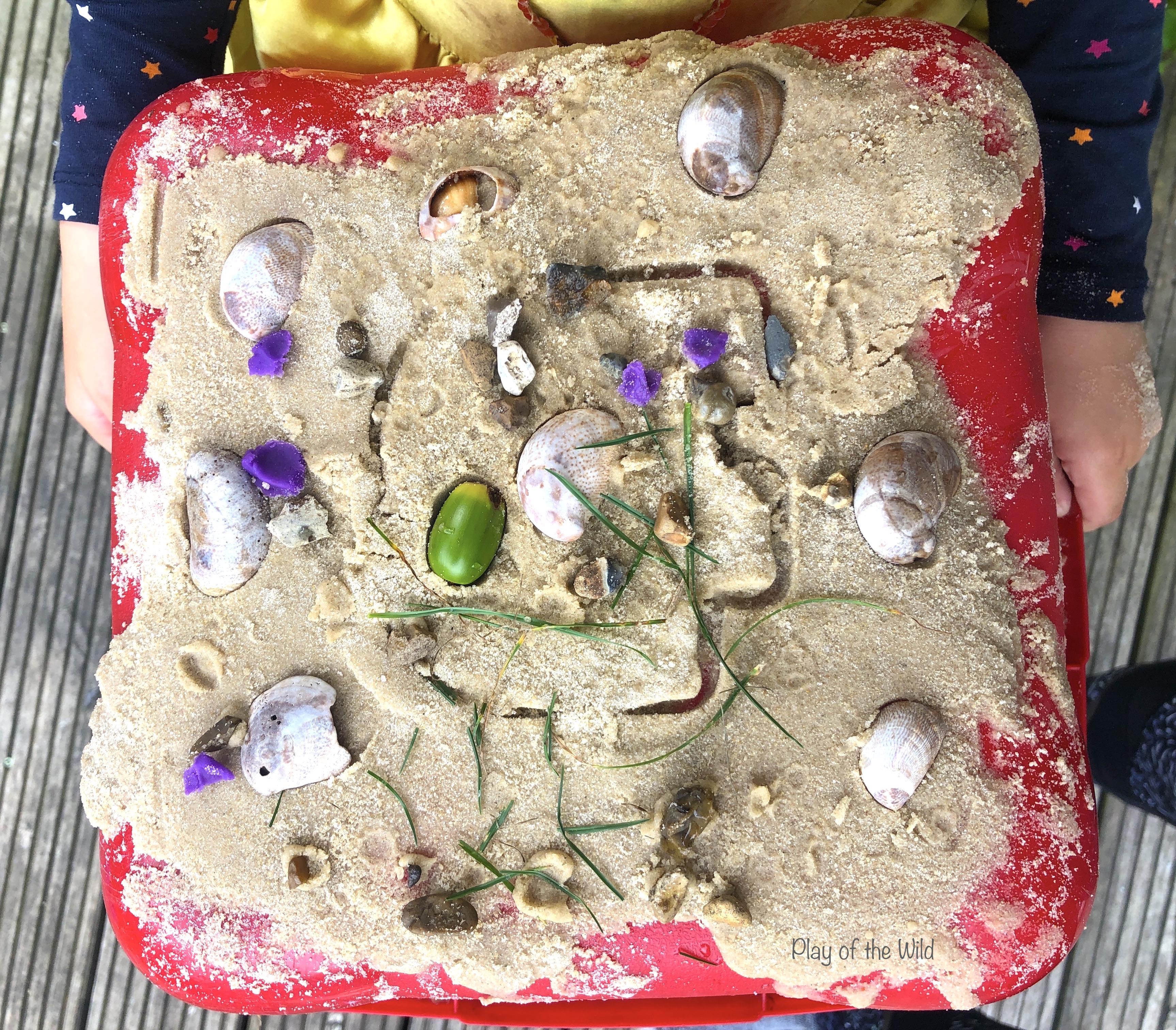 Outdoor Mark Making Ideas for Preschool