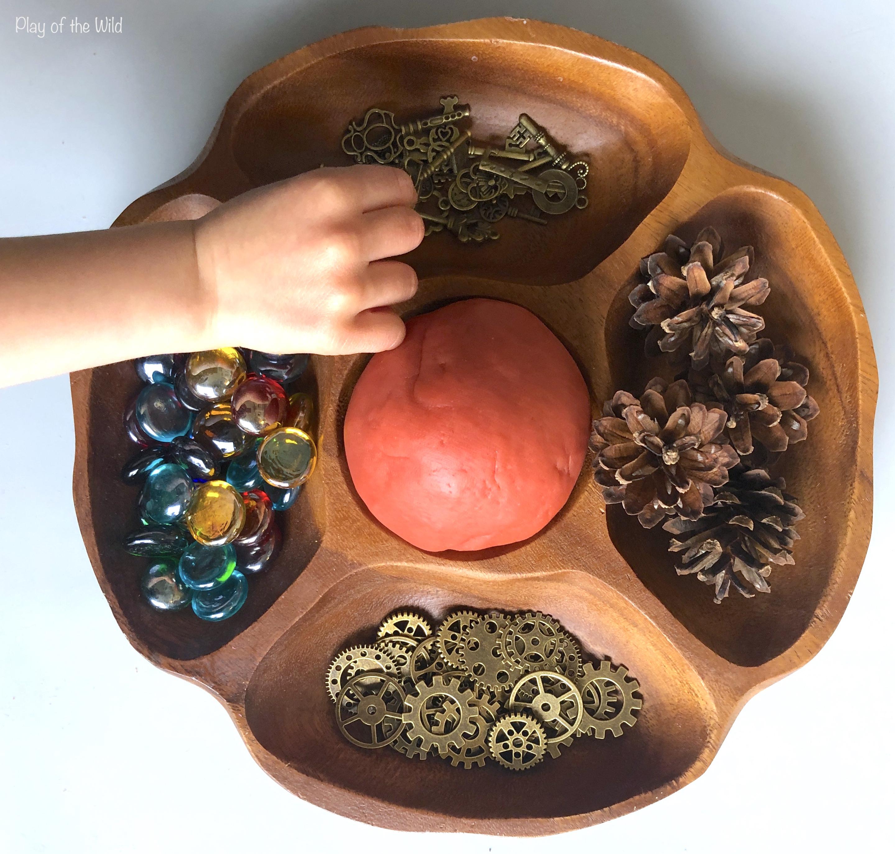 Aromatherapy Playdough Recipe