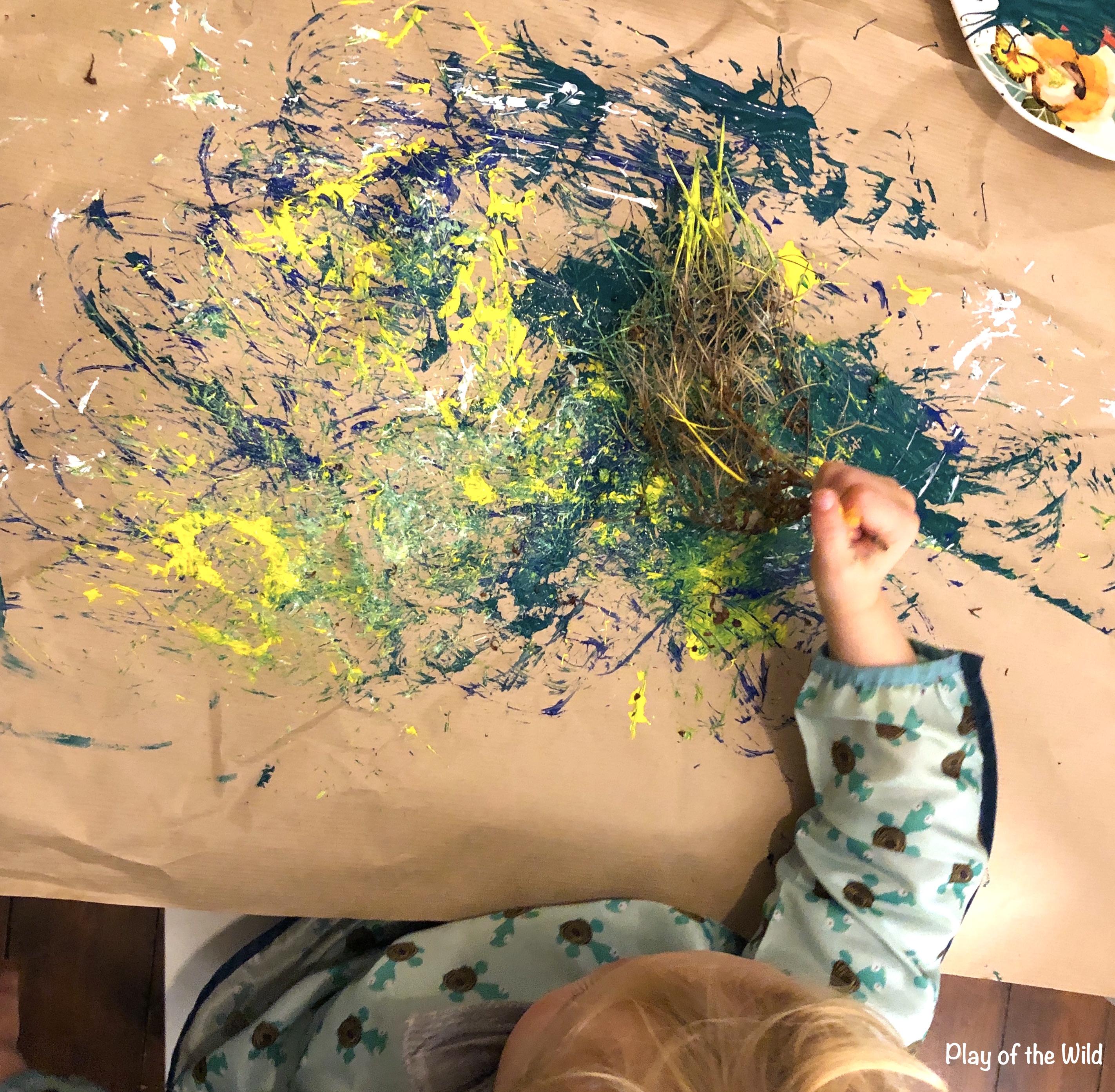 EYFS Mark Making Ideas & Activities that Help Children. outdoor mark making.
