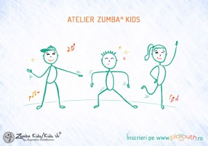 Atelier de Zumba® și distracție online pentru copii