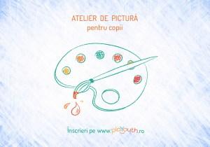 """Atelier online """"Emoții prin pictură"""" pentru copii"""