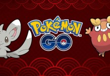 Pokemon GO Chiness New Year cover playpost
