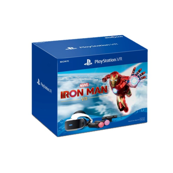 PR2020 PlayStationVR Marvel's Iron Man All-In-One Pack cover playpost