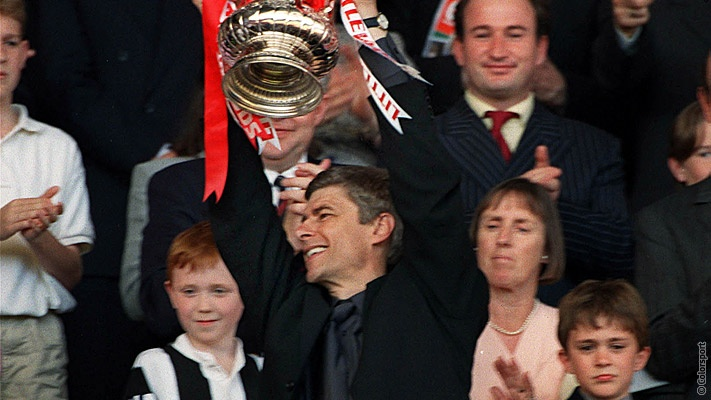 arsene wenger fa cup 1998