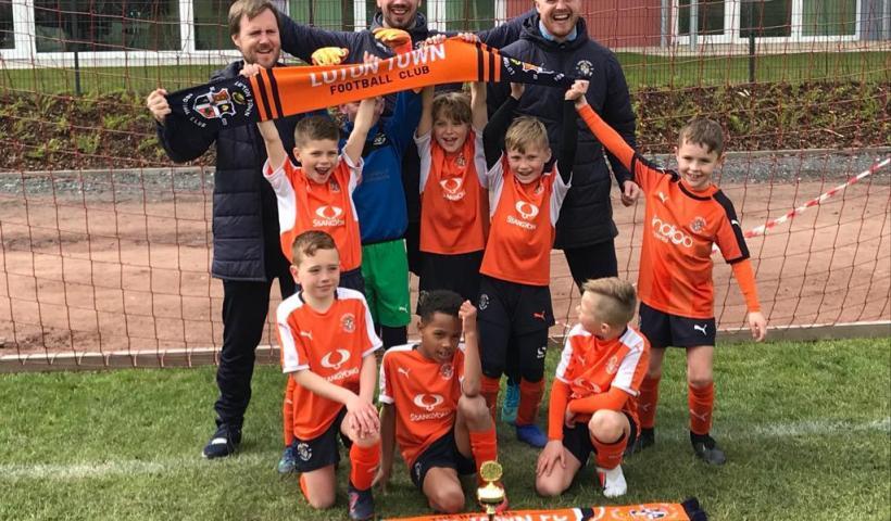 Luton Town U9 - European Champions 2019
