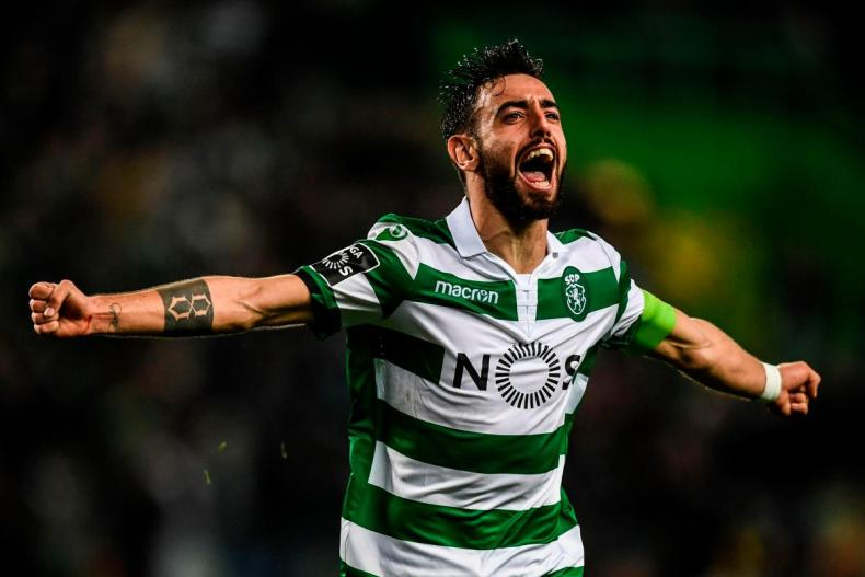 Bruno Fernandes of Sporting