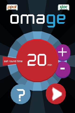 omage-satart-screen