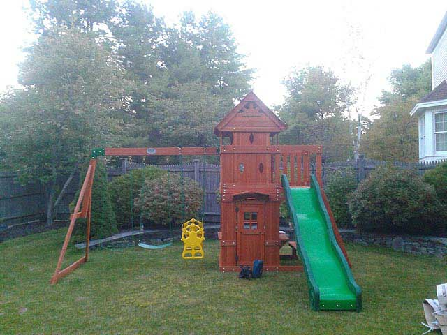 New England Playset Assembly Yarmouth Me Playset Installation