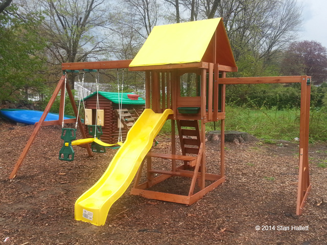 Big Backyard Cedarbrook Wood Gym Set from Toys-R-Us