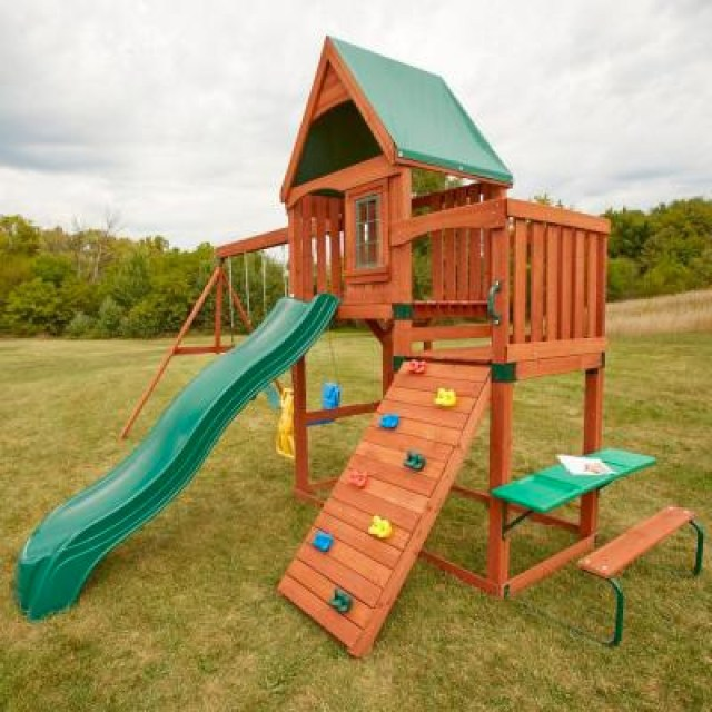 Swing-N-Slide Knightsbridge Wood Complete Play Set