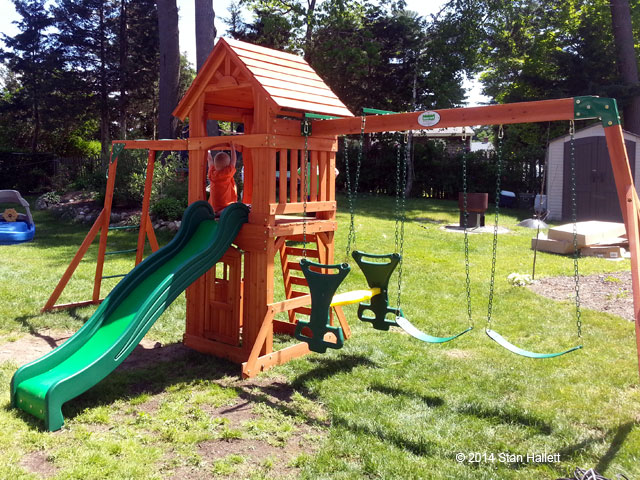 Backyard Discovery Sonora Cedar Wood, Swing Set