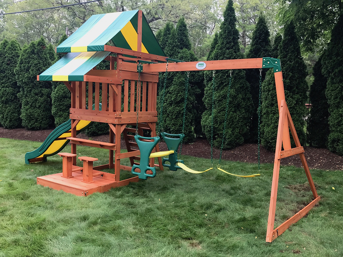 Backyard Discovery Independence Playset Assembly
