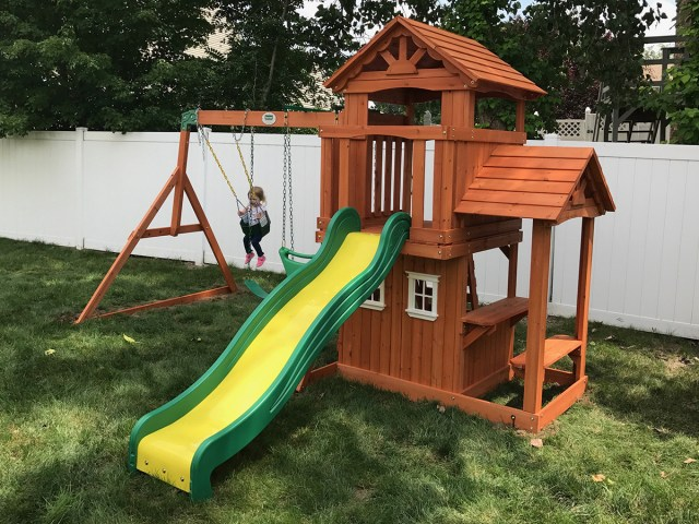 Backyard Discovery Tanglewood Playset Assembly