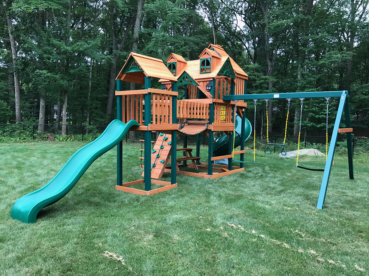 New England Playset Assembly East Greenwich Ri Playset