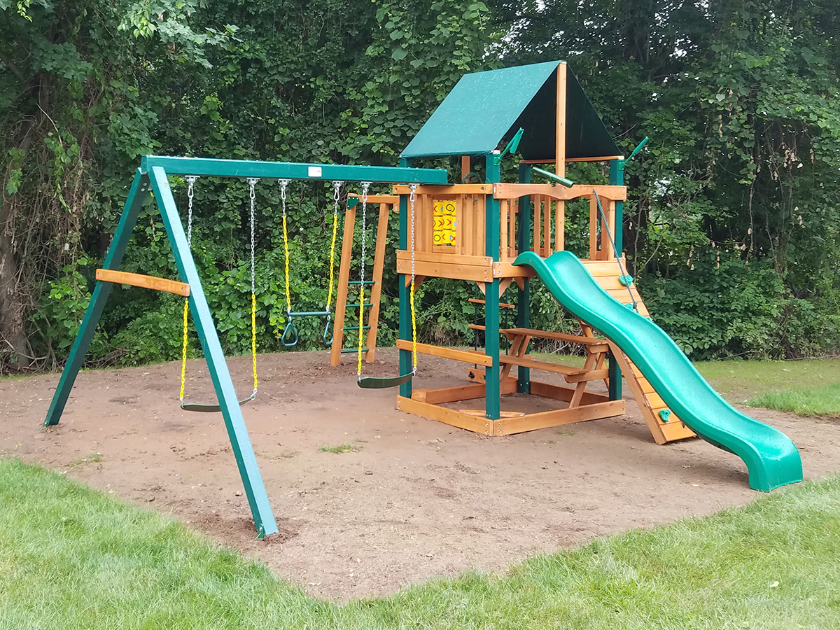 New England Playset Assembly Portland Ct Playset Installation