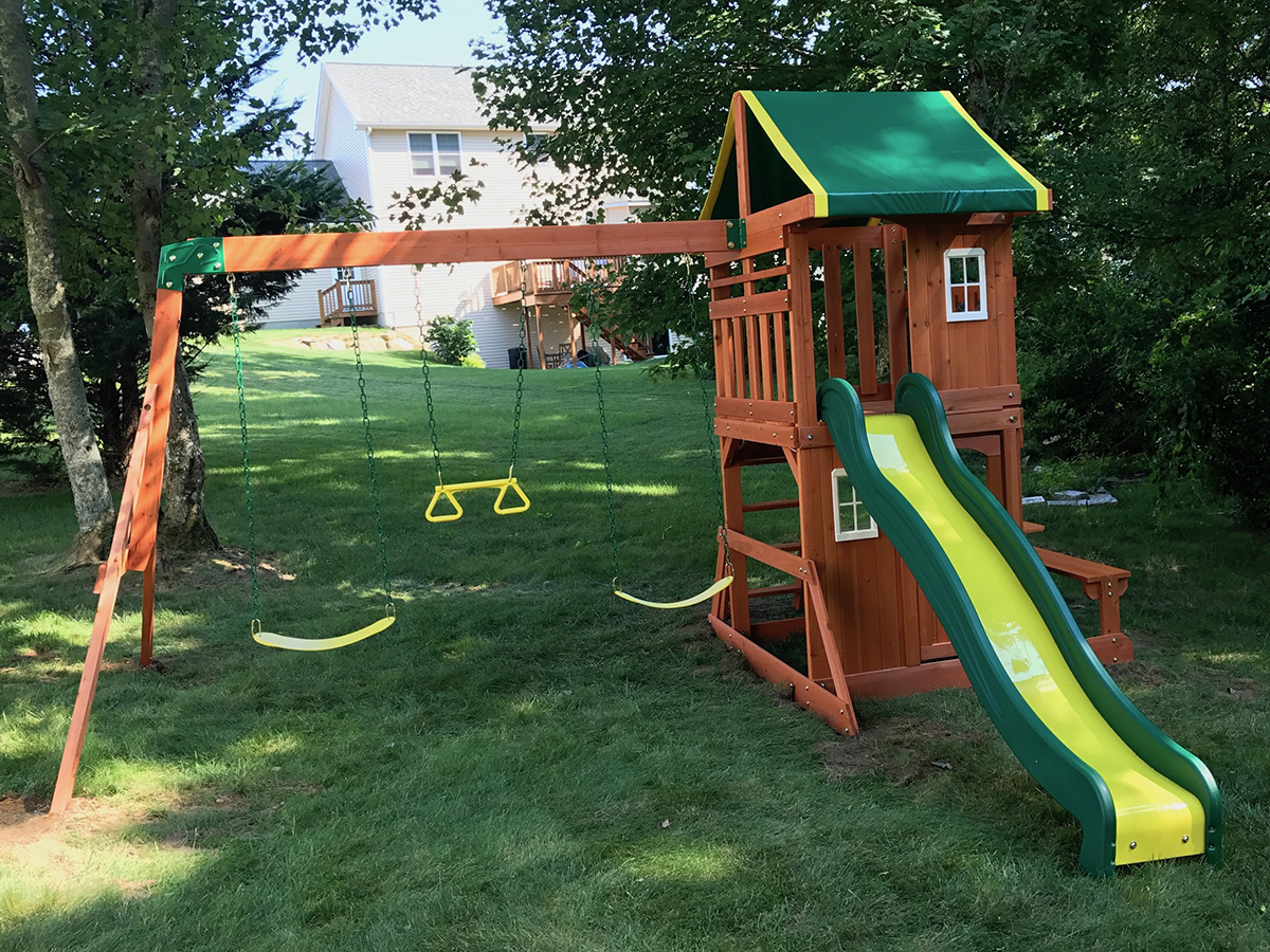 New England Playset Assembly Exeter Ri Playset Installation