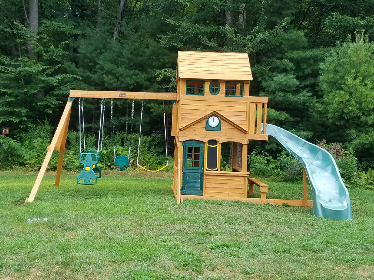 Big Backyard Ashbury II Swing Set