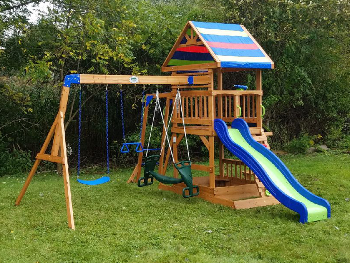 Backyard Discovery Beach Front Playset Assembly , Danvers, MA