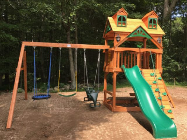 Gorilla Malibu Playset Assembly in Greenwich, CT