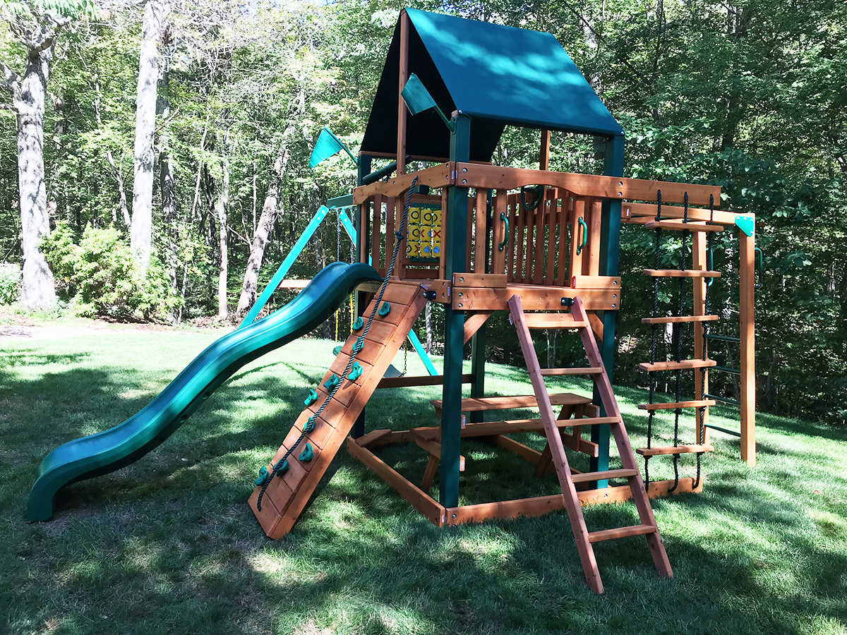 New England Playset Assembly Tolland Ct Playset Installation