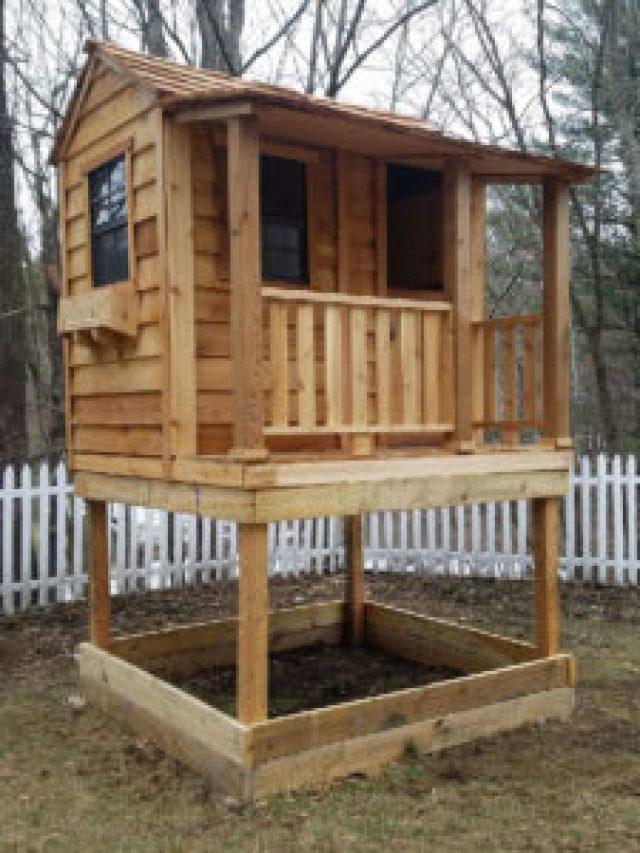 Outdoor Living Today (OLT) Little Cedar Playhouse
