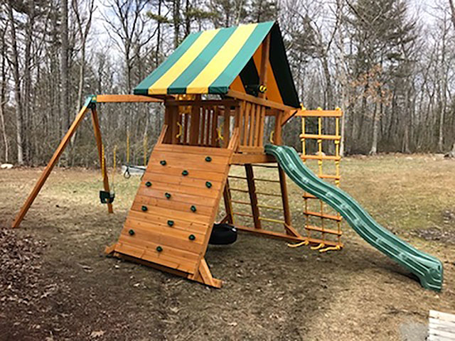 New England Playset Assembly Brookline Nh Playset Installation