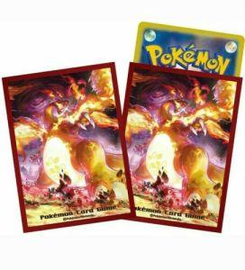 Charizard VMAX Gigantamax Pokemon Card TCG Sleeves Cases Japan Japanese 64 Count