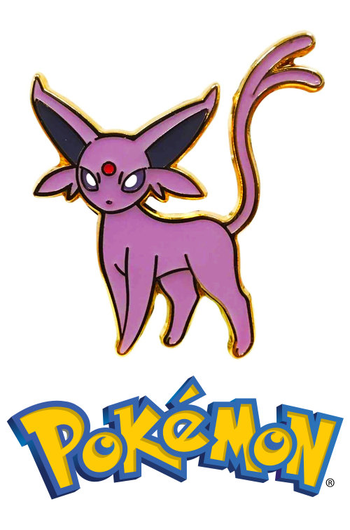 Espeon Official Metal Pokemon Pin Badge Eevee (Espeon GX Collection)
