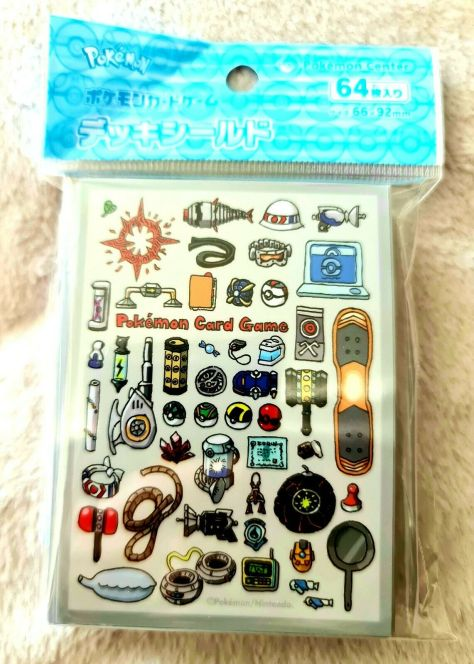 Ooyama Items Art Cool Pokemon Card TCG Sleeves Cases Japan Japanese 64 Count