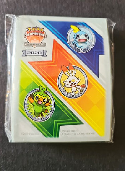 Pokemon International Championship 2018/2019 Europe Official Standard Card Sleeves 65 Count